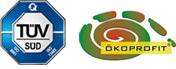 TÜV und Ökoprofit Zertifikat